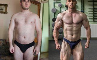Натуральный бодибилдинг: 6 впечатляющих трансформаций до и после