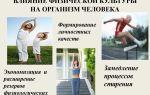 Спорт и здоровье: влияние физкультуры на организм человека