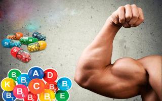Витамины для спортсменов, необходимый набор бодибилдера