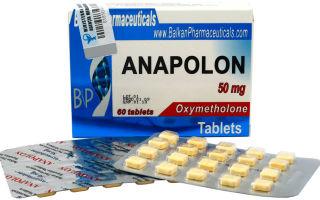 Анаполон 50 — отзывы, как принимать anapolon 50 соло, побочные эффекты
