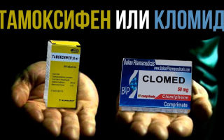Что лучше кломид или тамоксифен на пкт: плюсы и минусы, отличия