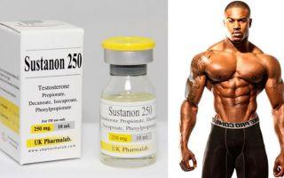 Сустанон 250: как составить курс, как принимать, побочные эффекты