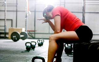 Тренировки при простуде: можно ли идти на тренировку