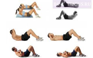 Как накачать пресс девушкам и мужчинам в домашних условиях, эффективные упражнения
