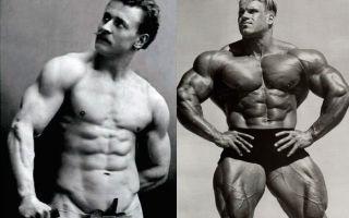 Натуральный бодибилдинг и отличия от стероидного тренинга