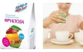Фруктоза: польза и вред, употребление при сахарном диабете вместо сахара