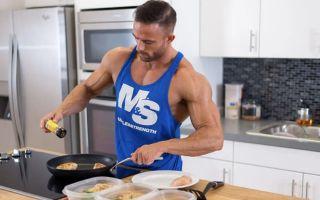 Диеты для наращивания сухой мышечной массы