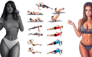 Как сделать тонкую талию, упражнения для талии