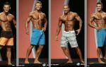 Менс физик (пляжный бодибилдинг), категории men's physique