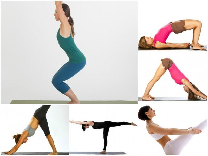 Йога похудеть в бедрах