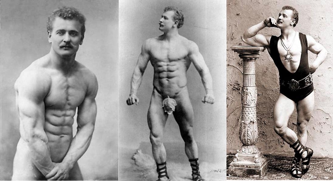 Атлеты прошлого и настоящего и этапы развития бодибилдинга