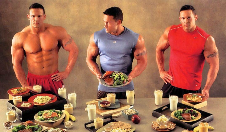 Спортивная диета виды
