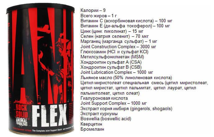 Animal Flex - лучшая в мире добавка для связок