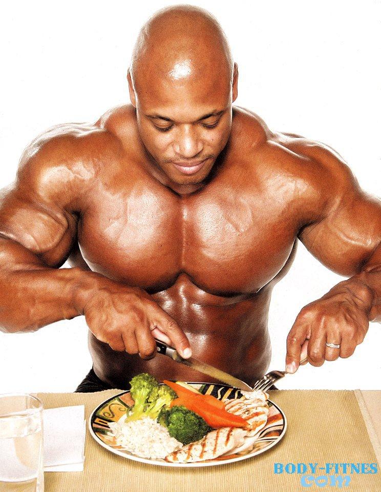 Правильное питание чтобы нарастить мышечную массу