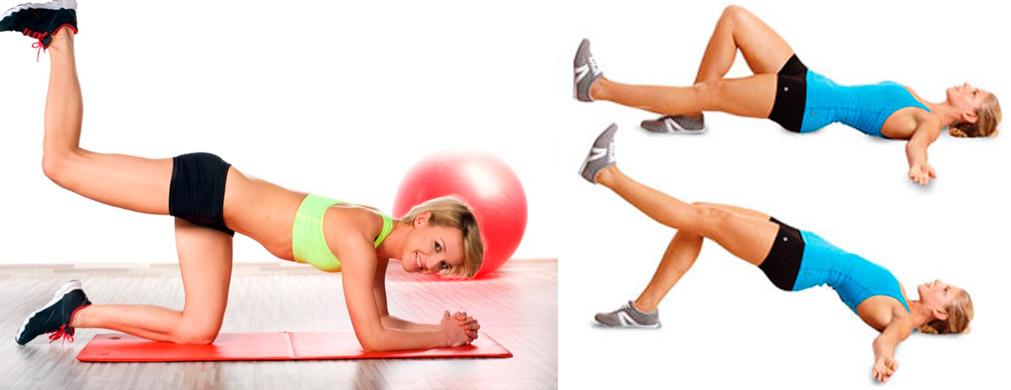 Упражнения на ягодицы для женщин в домашних условиях, без тренажеров
