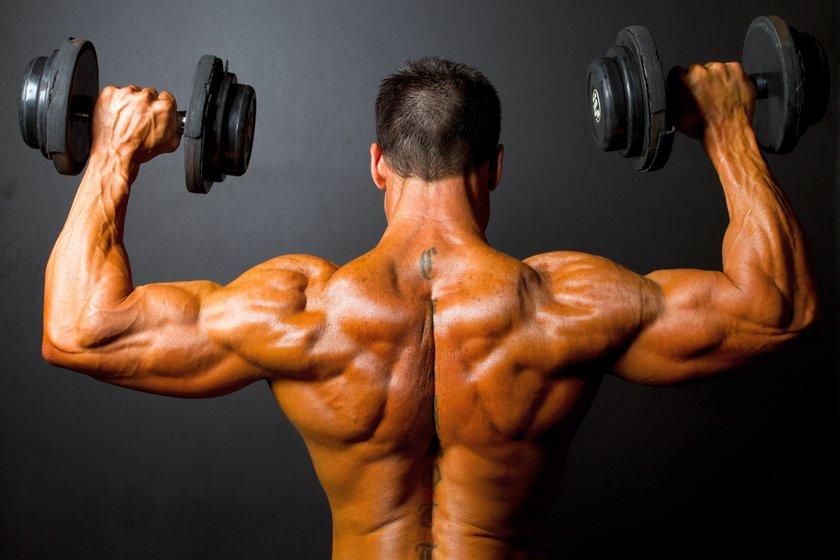 Эффективный тренинг для развития мощных плеч | Спорт и Здоровье | 560x840